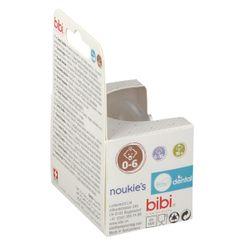 bibi® Happiness Sucette Dental noukie's 0 - 6 mois (Couleur non sélectionnable)