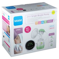 MAM Tire-lait simple pompage 2-en-1