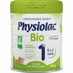 Physiolac Bio 1 Lait pour nourrissons 1er âge