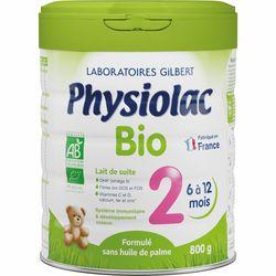 Physiolac Bio 2 Lait de suite pour nourrisson 2ème âge