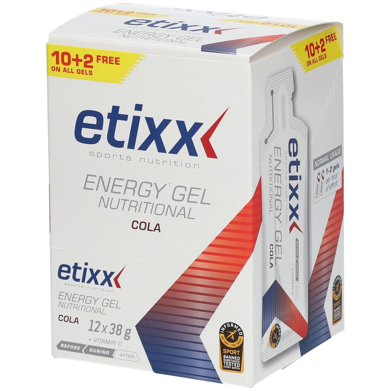 Image of Etixx Nutritional Energy Gel Cola