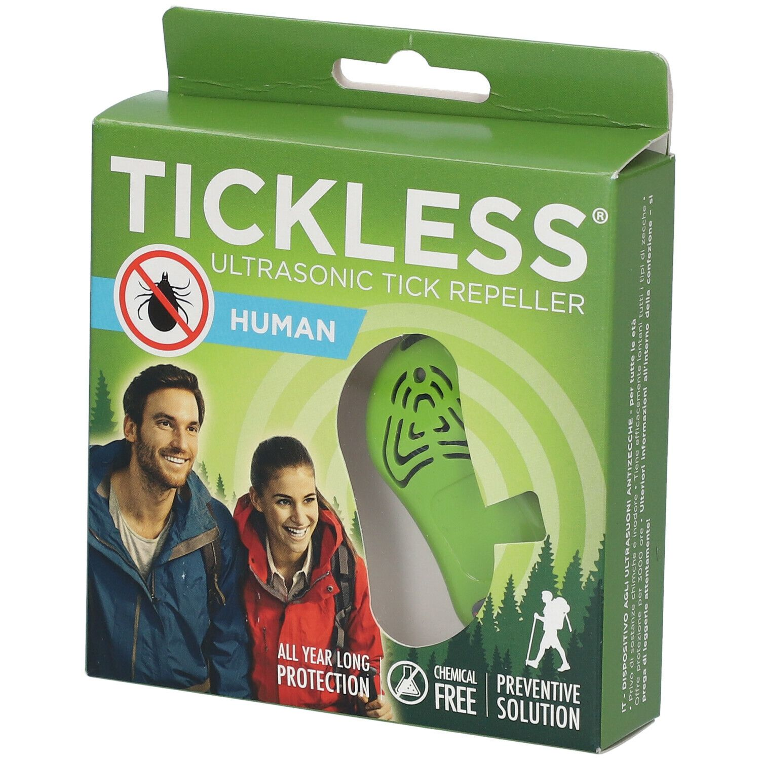 Afbeelding van Tickless® Expulseur Ultrasonique Tique/Puce Homme
