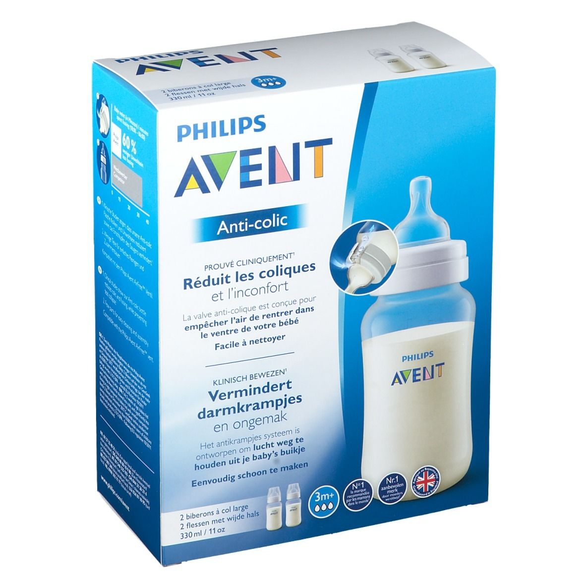 Philips Avent Biberon Anti-colic 330 ml