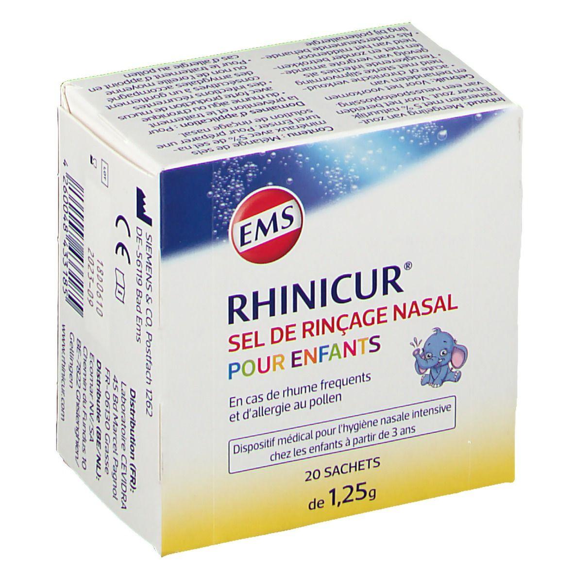 Image of Rhinicur Neus Spoelzout Kind 1Jaar