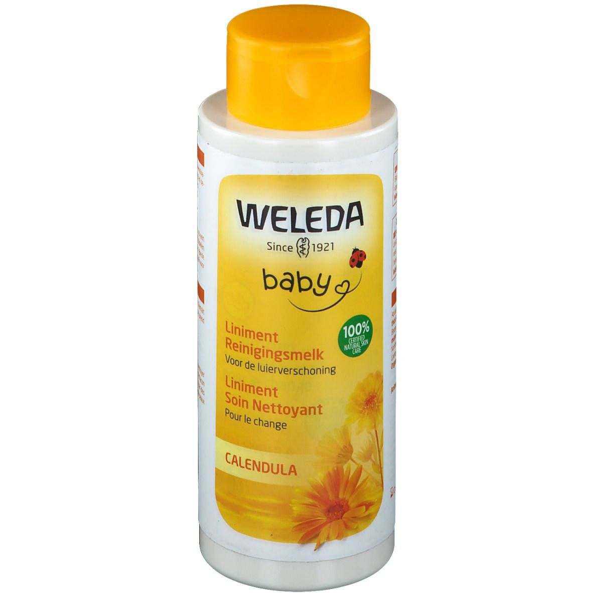 Image of Weleda Baby Liniment Soin nettoyant pour le Change Calendula