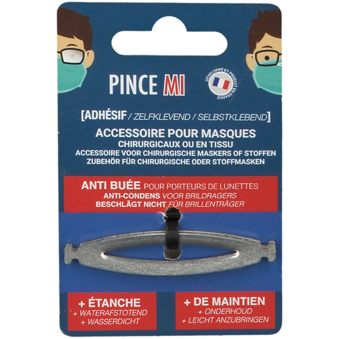 Image of Pince MI Adhesif pour masques