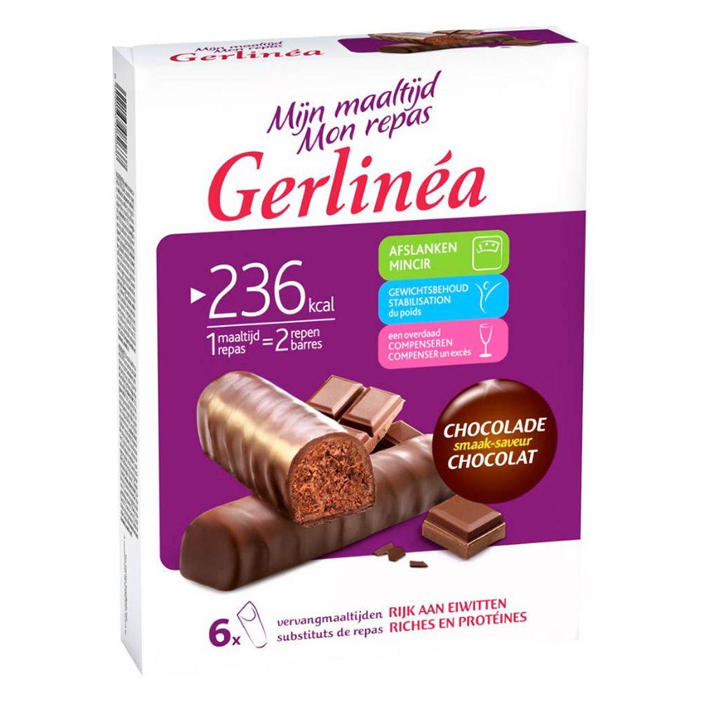 Gerlinéa Mon Repas Barres Chocolat - shop-pharmacie.fr