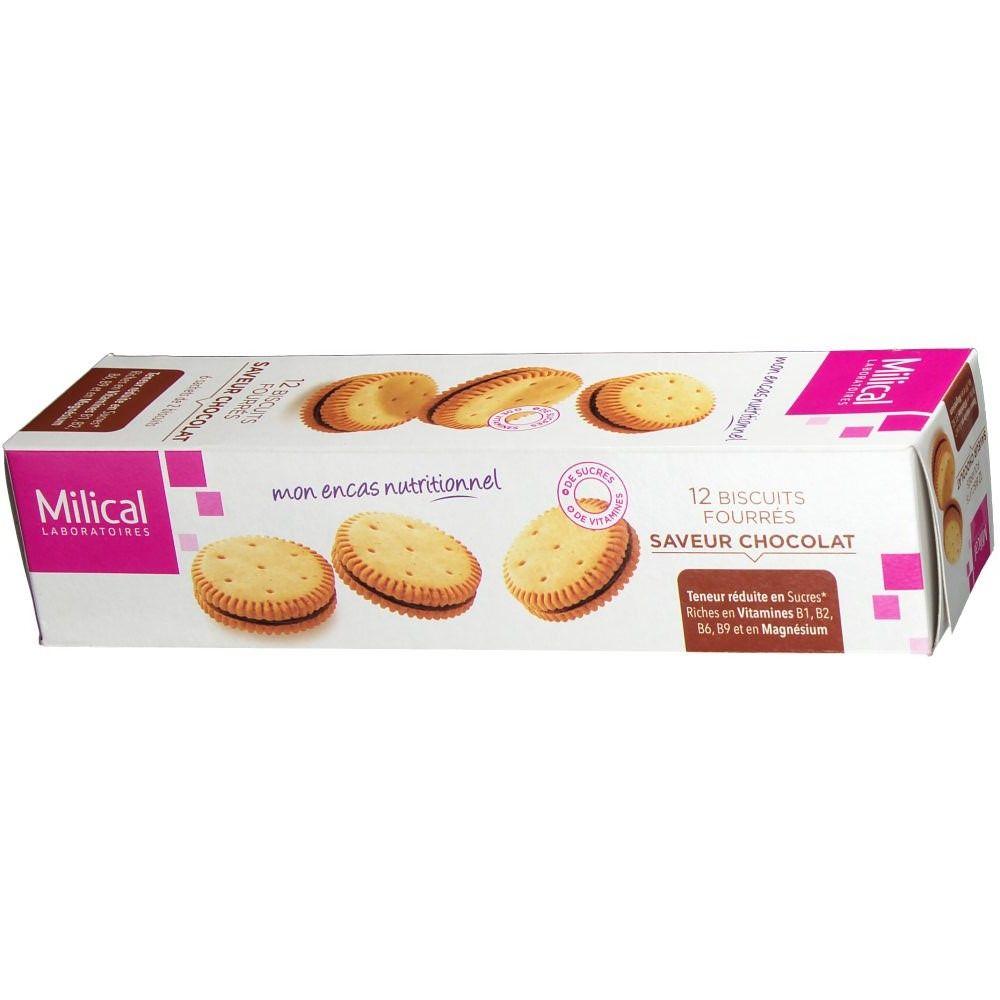 Milical Nutrition biscuits fourrés chocolat - shop