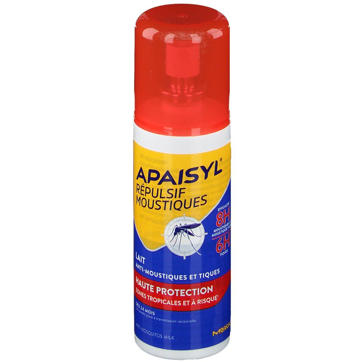 Image of Apaisyl® Répulsif Moustiques Lait haute protection