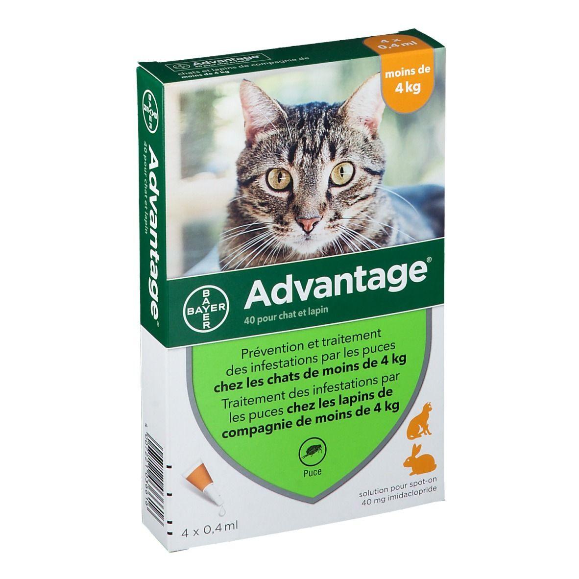 Image of Advantage 40 pour chat et lapin