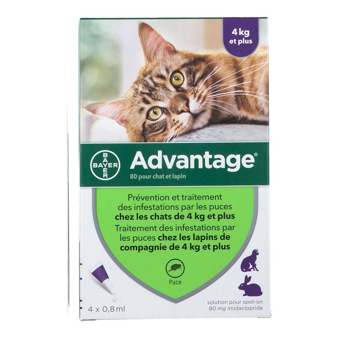 Image of Advantage 80 pour chat et lapin