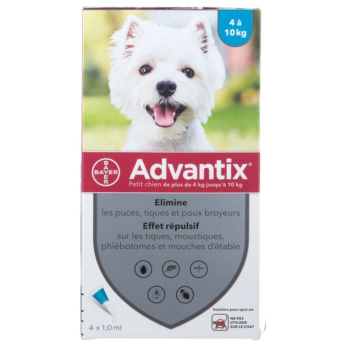 Image of Advantix Petit chien de 4 kg - 10 kg