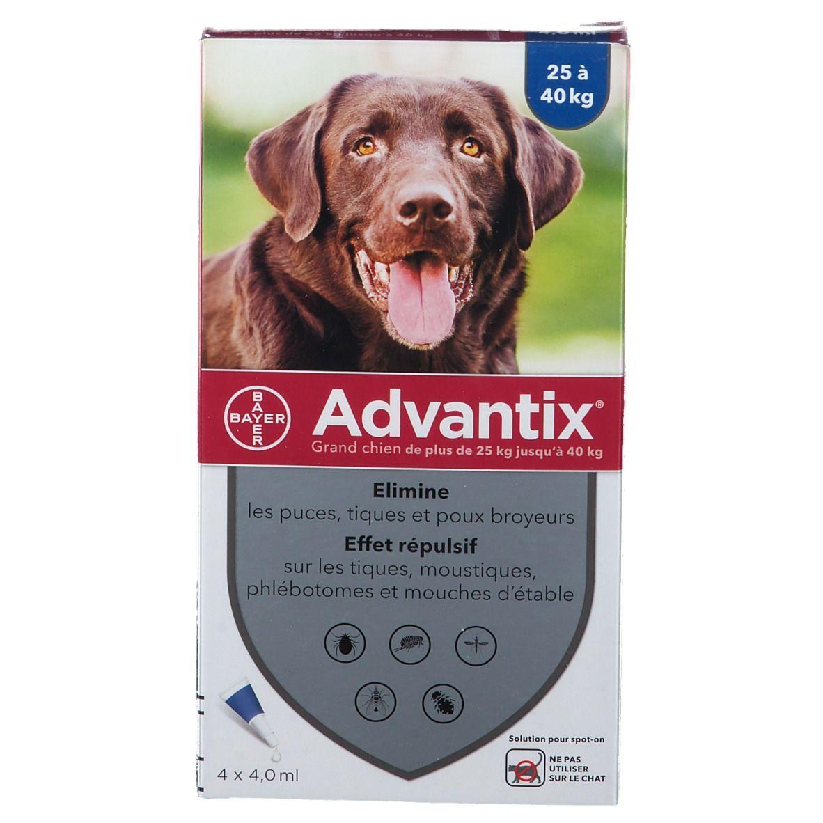 Image of Advantix Grand chien de 25 kg - 40 kg