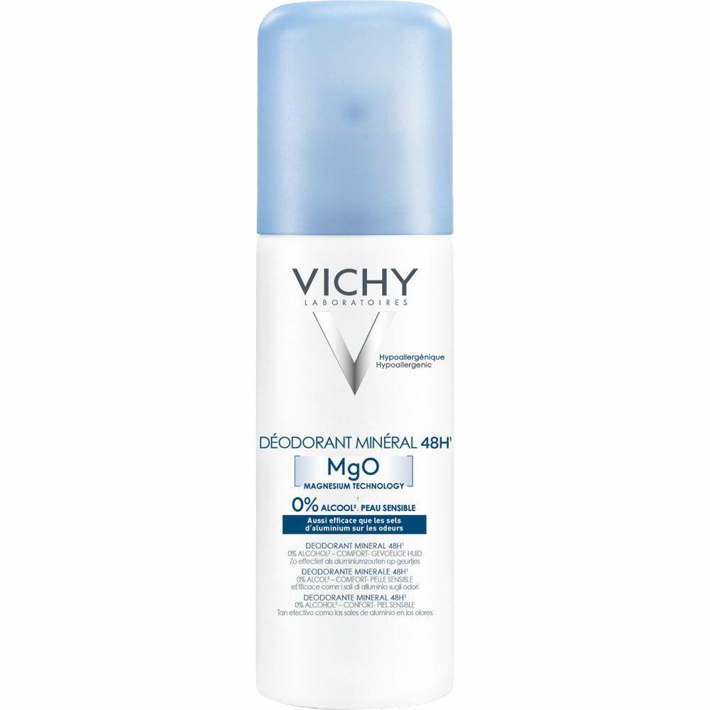 Vichy Déodorant Minéral - Sans sels d'aluminium Aérosol