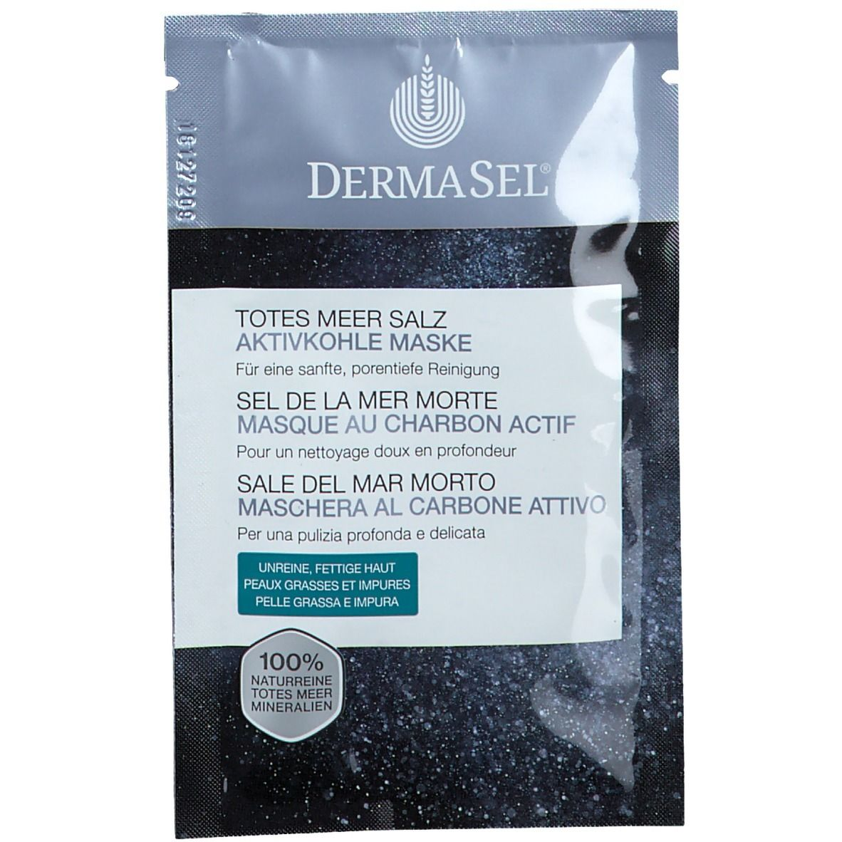 Image of DermaSel® Masque au charbon actif