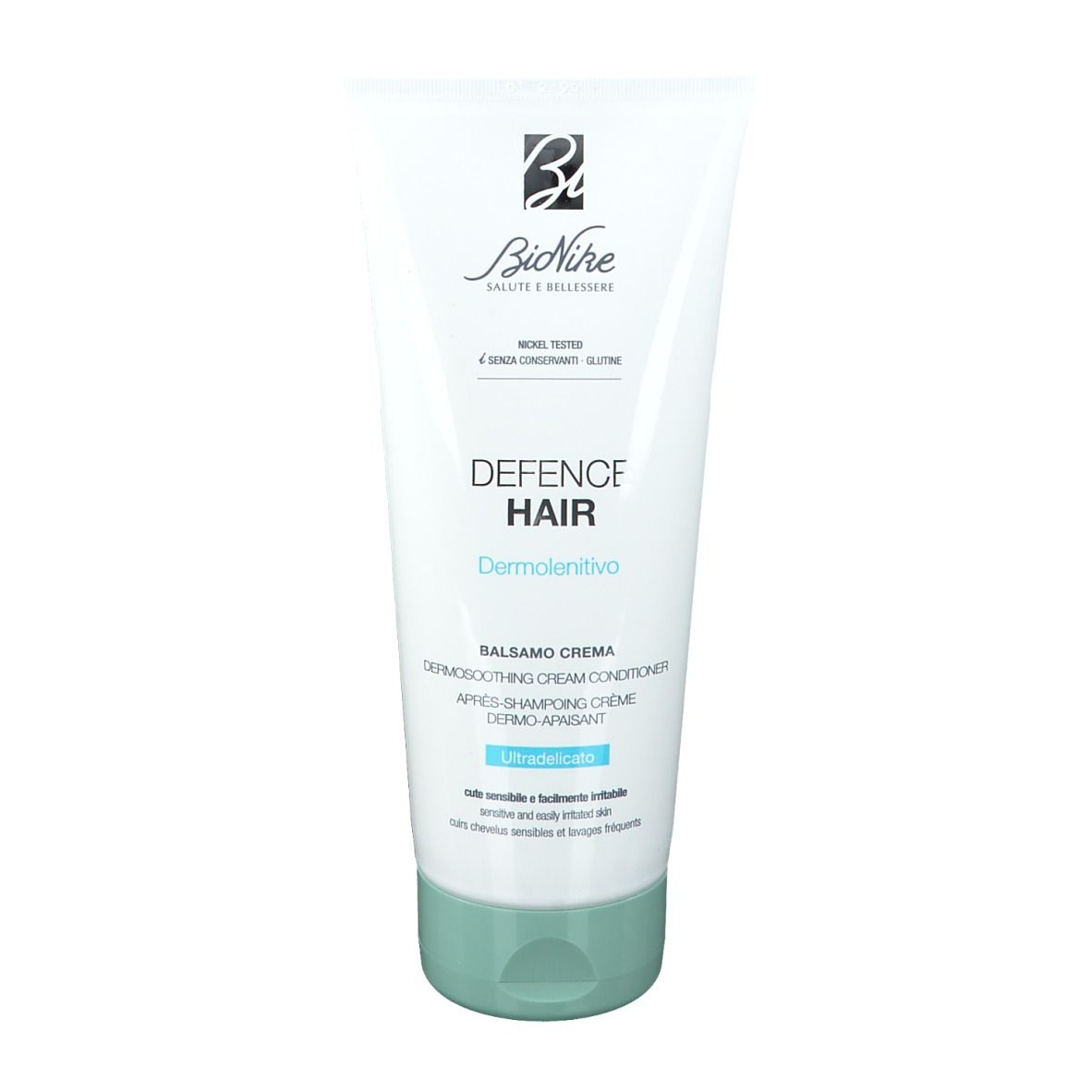 BioNike Defence Hair Après-Shampoing crème Dermo-apaisant ultra-doux