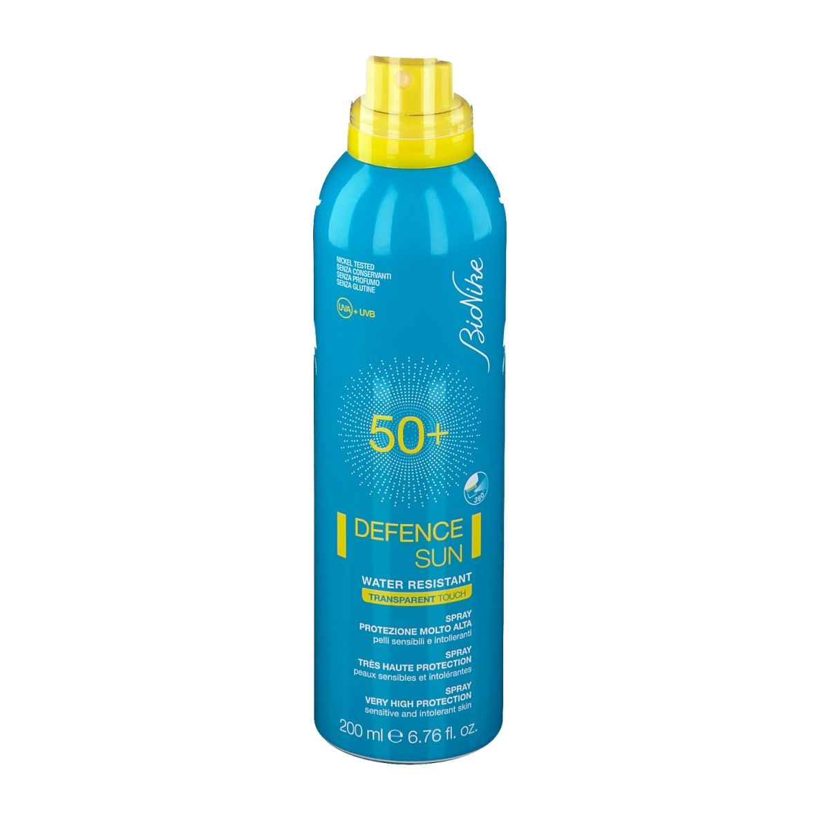 BioNike Defence SUN Transparent Touch Spf50+