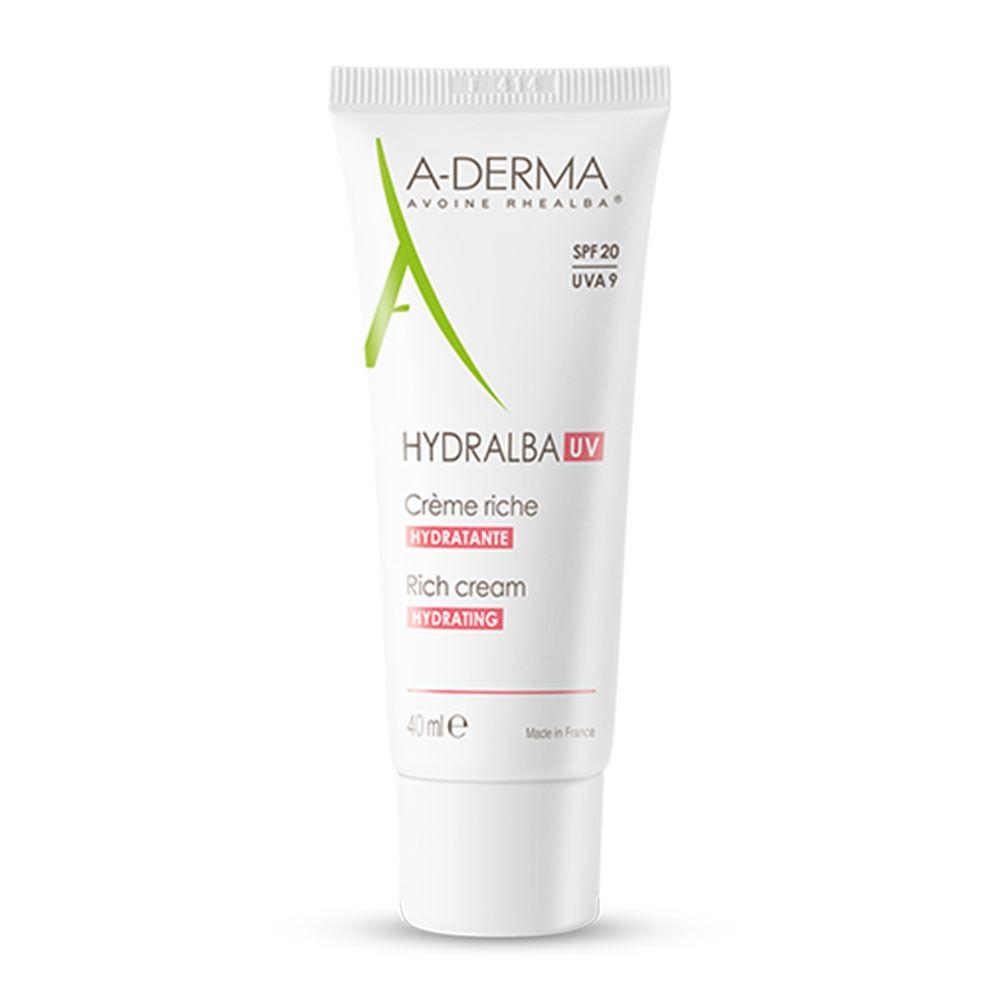 A-Derma Hydralba UV crème hydratante riche SPF 20