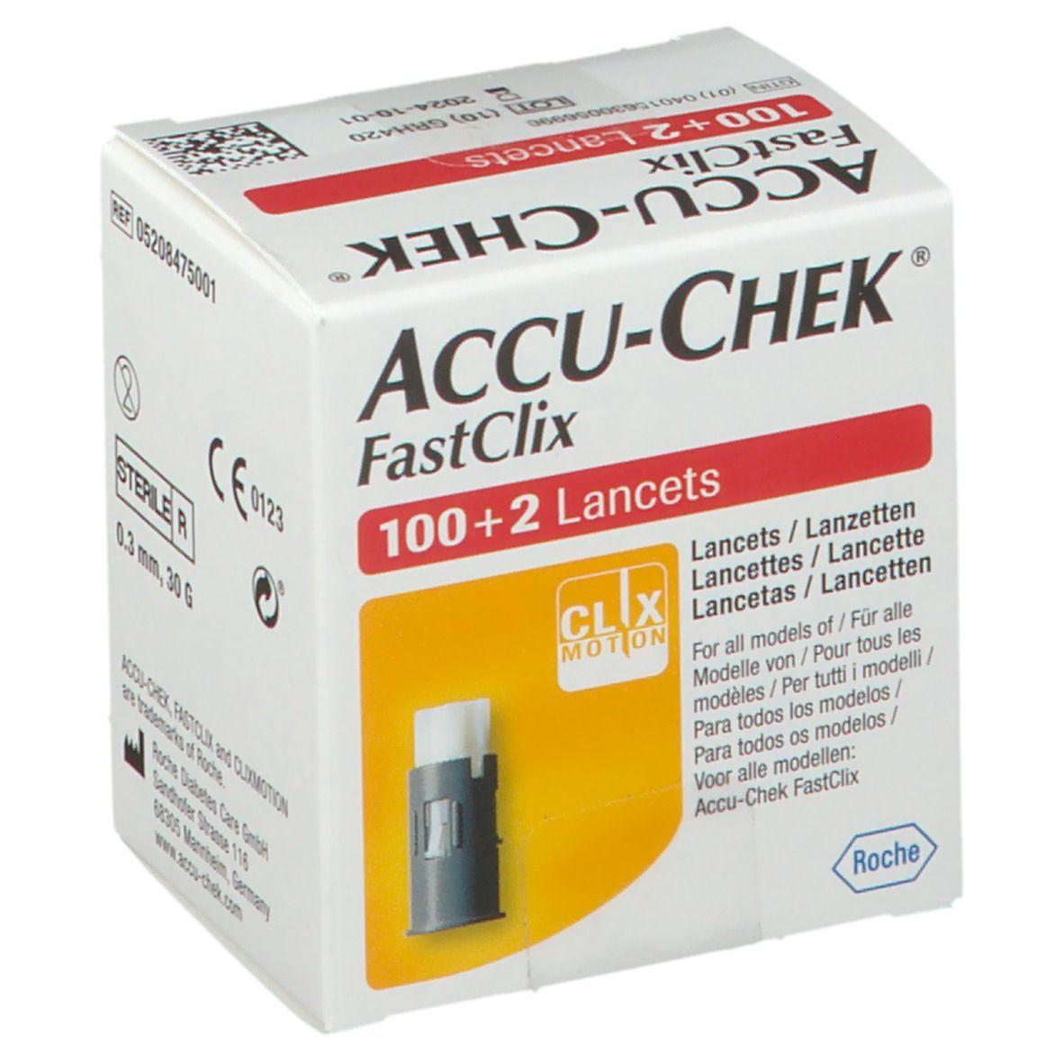 ACCU-CHEK® Fastclix Lancettes