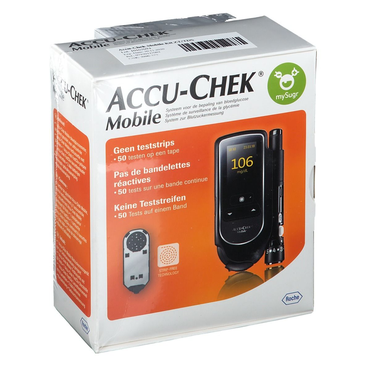 ACCU-CHEK® Mobile mg/dl