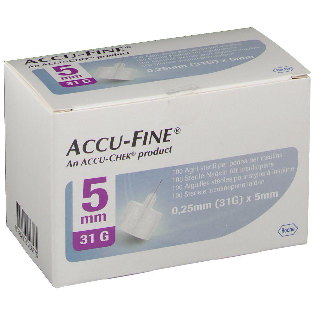 Accu Fine Aiguille 0.25 x 5 mm 31 g