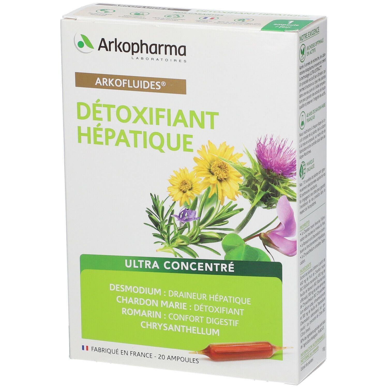 detoxifiant hépatique arkopharma
