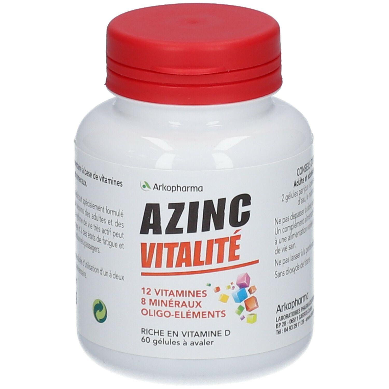 Arkopharma Azinc forme et vitalité