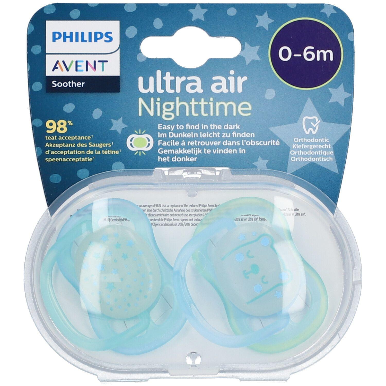 Avent Sucette Ultra Air Night Boy 0-6 Mois (Couleur non sélectionnable)