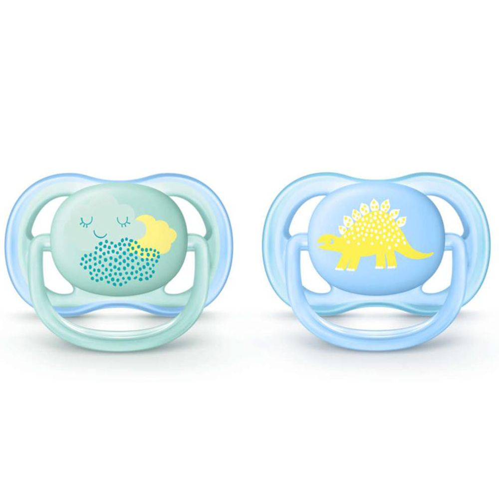 Avent Sucette Ultra air Silicone Boy Deco 0-6 mois
