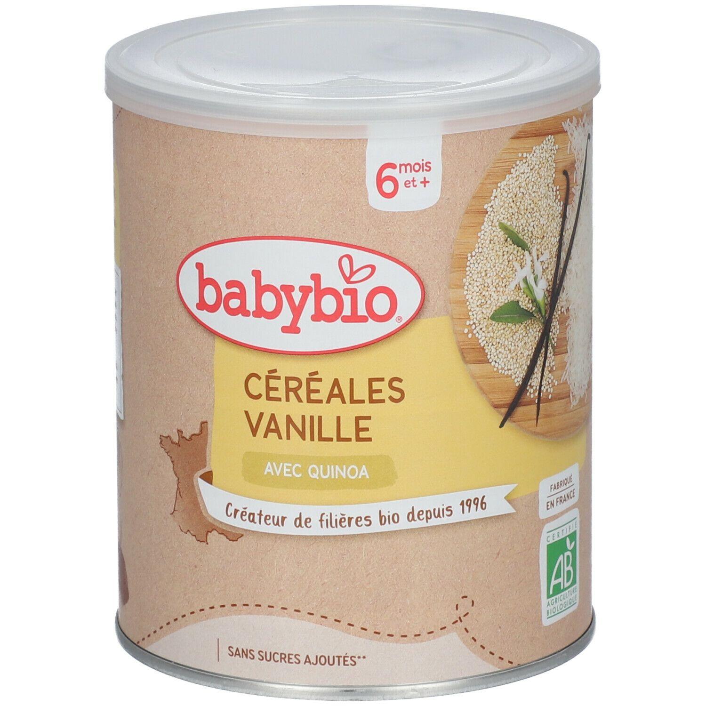 Babybio Céréales vanille bio dès 6 mois