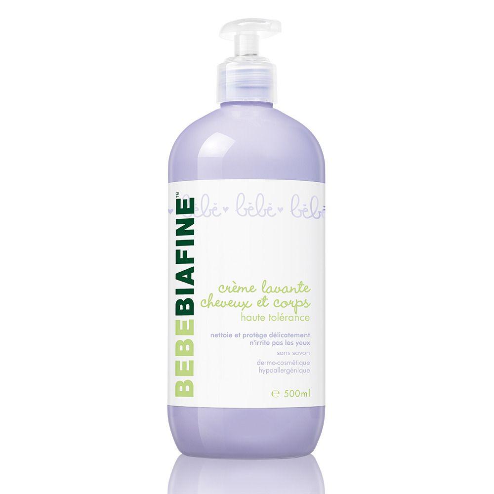 Bebe biafine Crème lavante cheveux et corps haute tolérance 500 ml