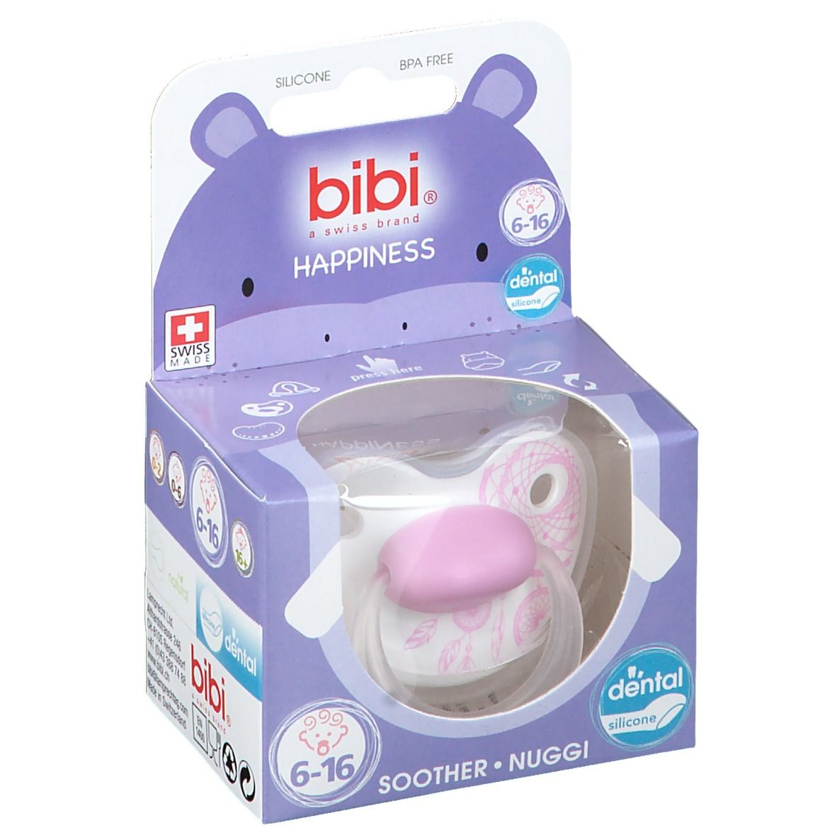 bibi® Happiness Sucette Dental Dreamcatcher 6-16 mois