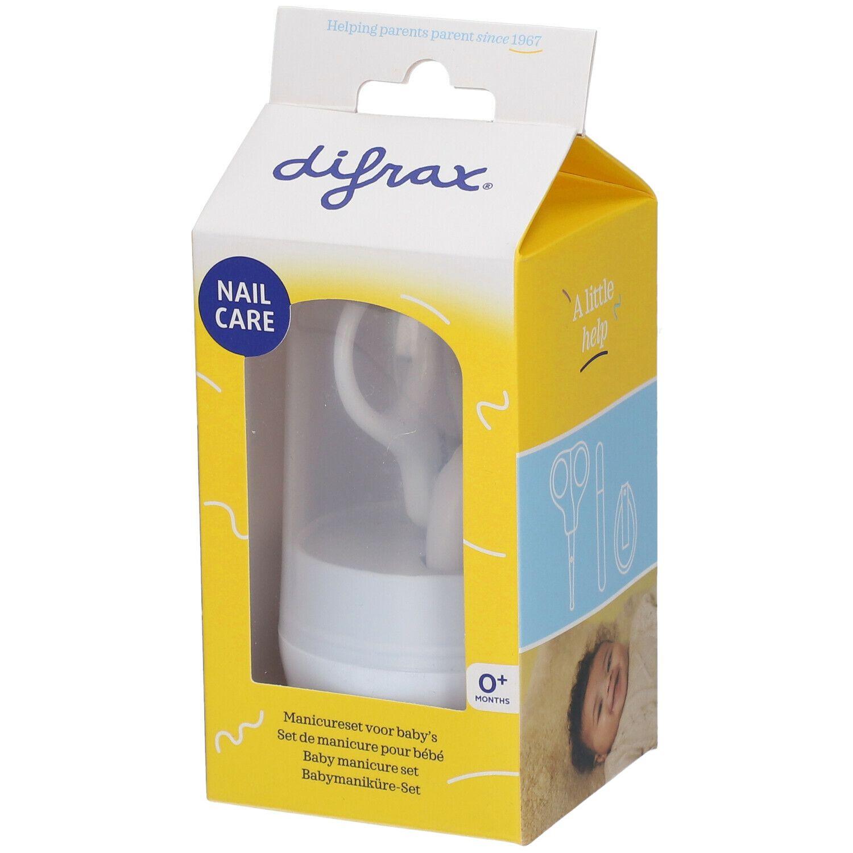 difrax® Deluxe Set de manucure pour bébé +1 mois