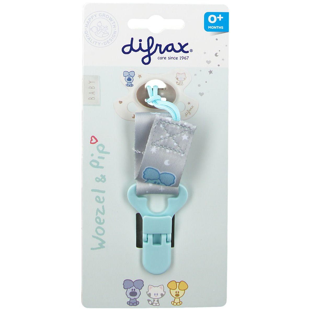 Difrax® Attache sucette Woezel et Pip