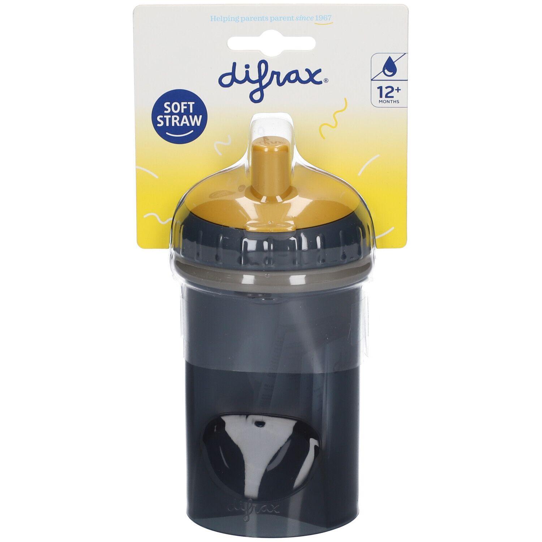 Difrax® Gobelet à paille anti fuite 250 ml