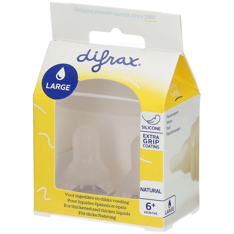 Difrax® Tétine Natural Large