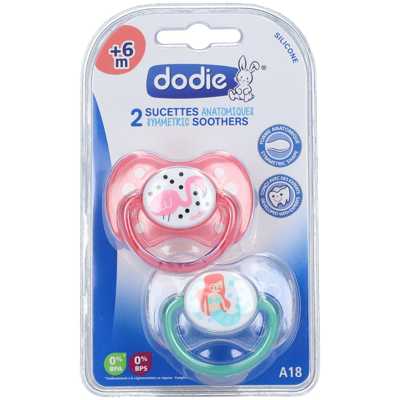 dodie® Duo sucettes +6 mois Motiv Duo (Couleur non sélectionnable)
