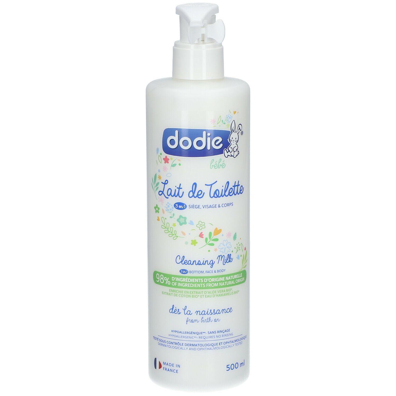 dodie® Lait de toilette 3 en 1