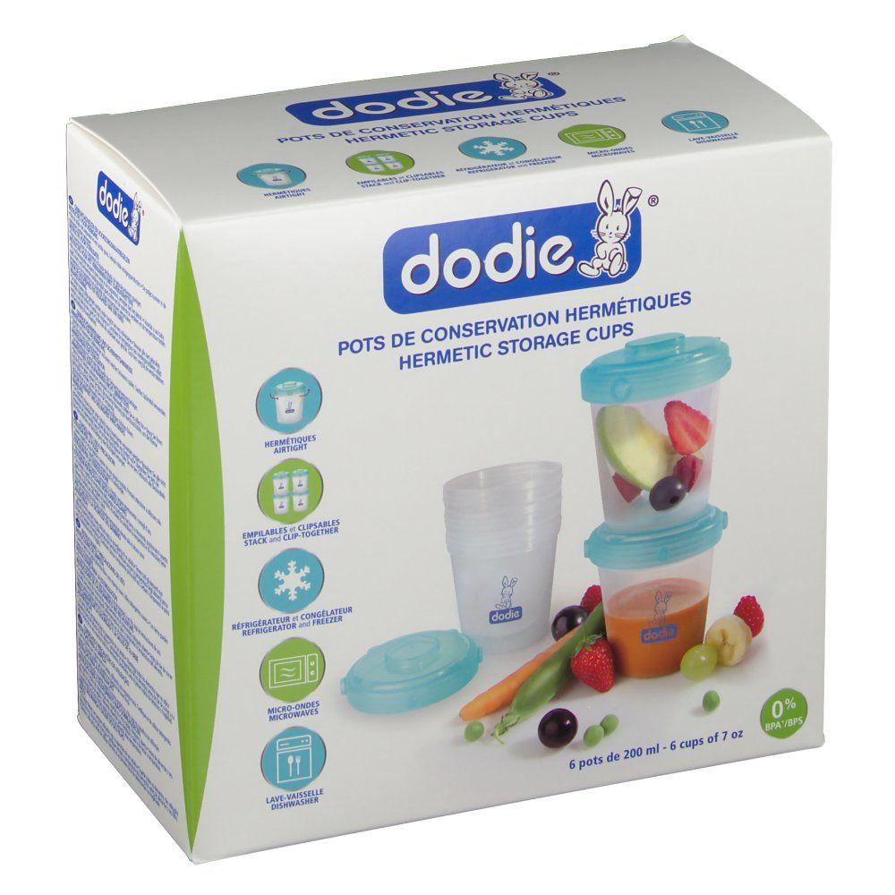 dodie® Pots de conservation hermétiques