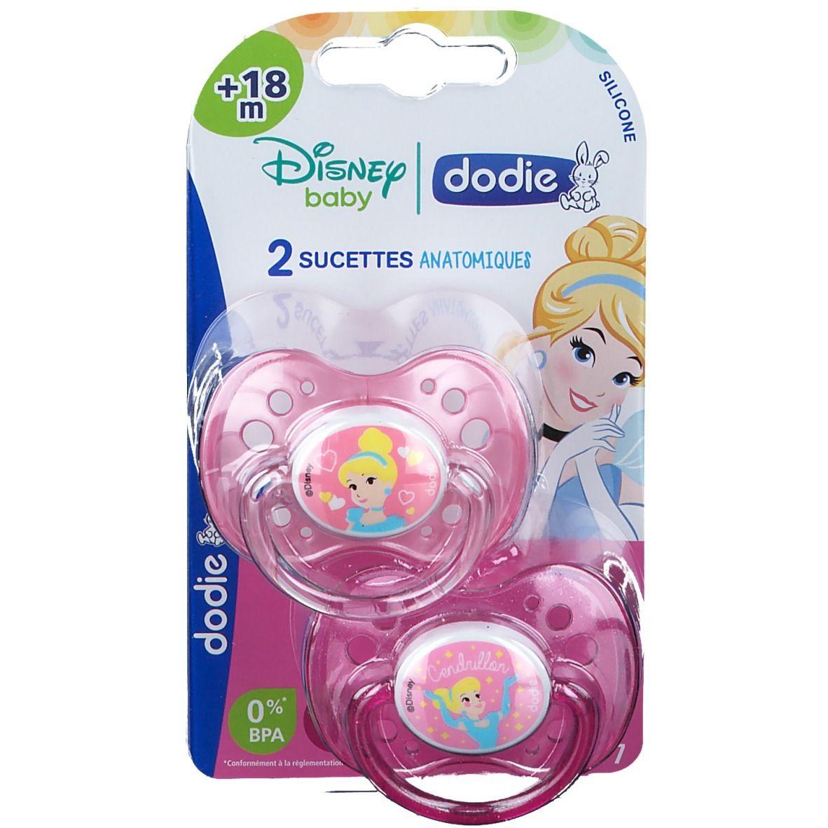 dodie® Sucette Anatomique + 18 Mois Disney (Couleur non sélectionnable)