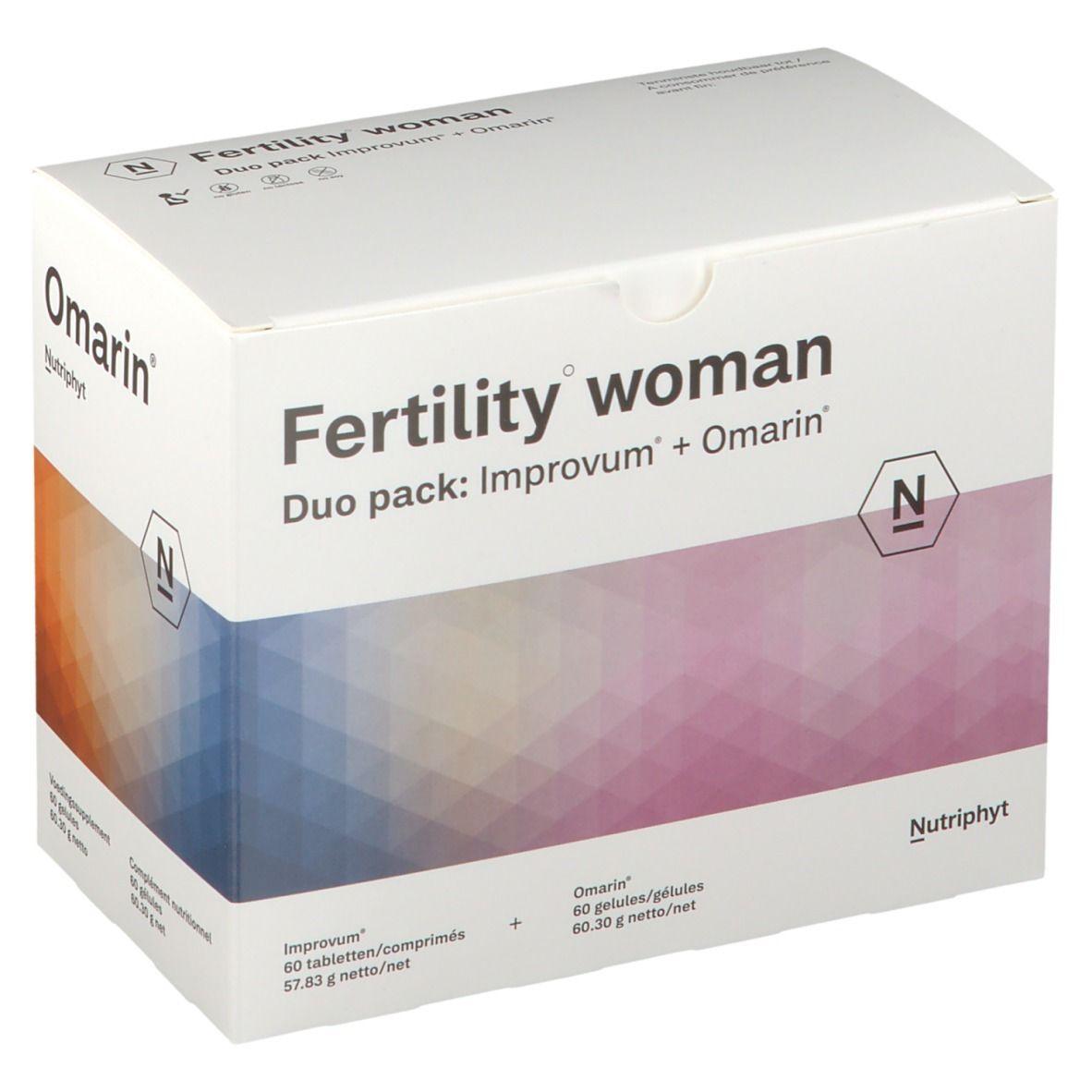 Fertility Woman Duo Omarin + Improve