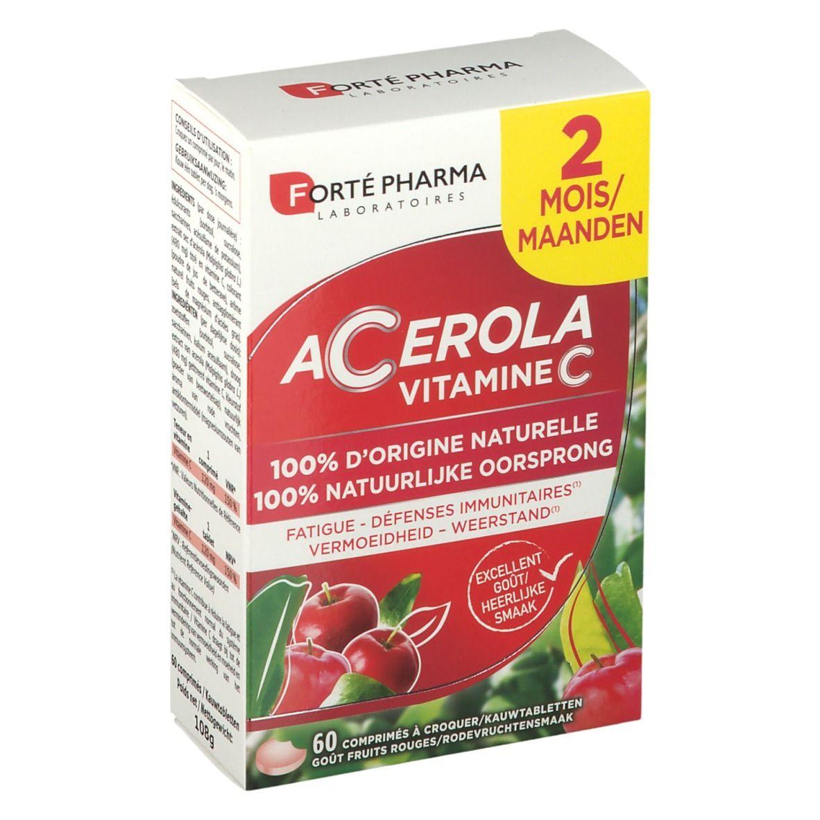 Forté Pharma Acerola Vitamine C