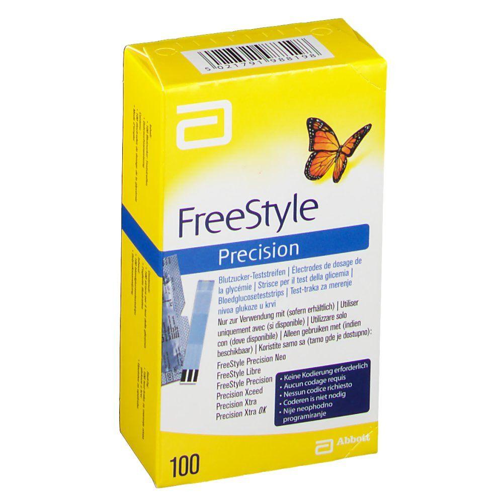 Freedom Freestyle Precision Strips