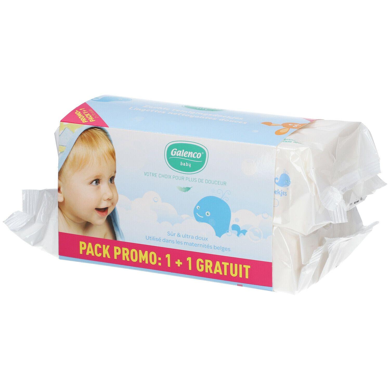 Galenco® Baby Lingettes nettoyantes douces