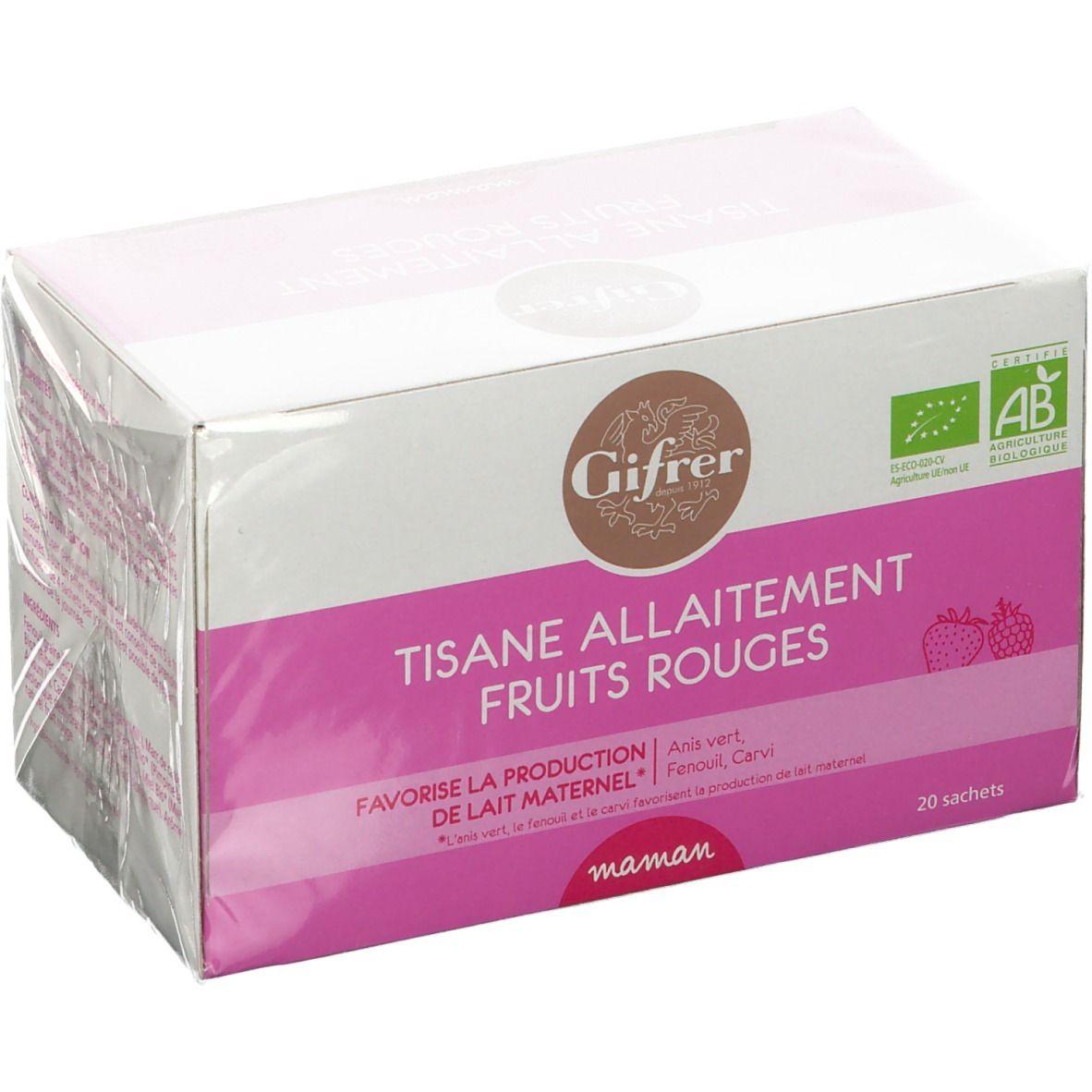 Gifrer Tisane allaitement fruits rouges