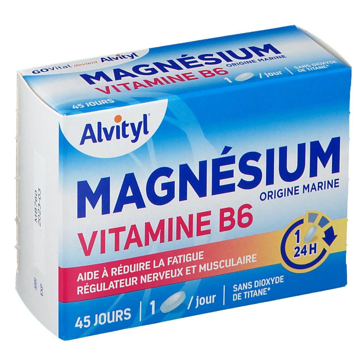 GOVital Magnésium vitamine B6