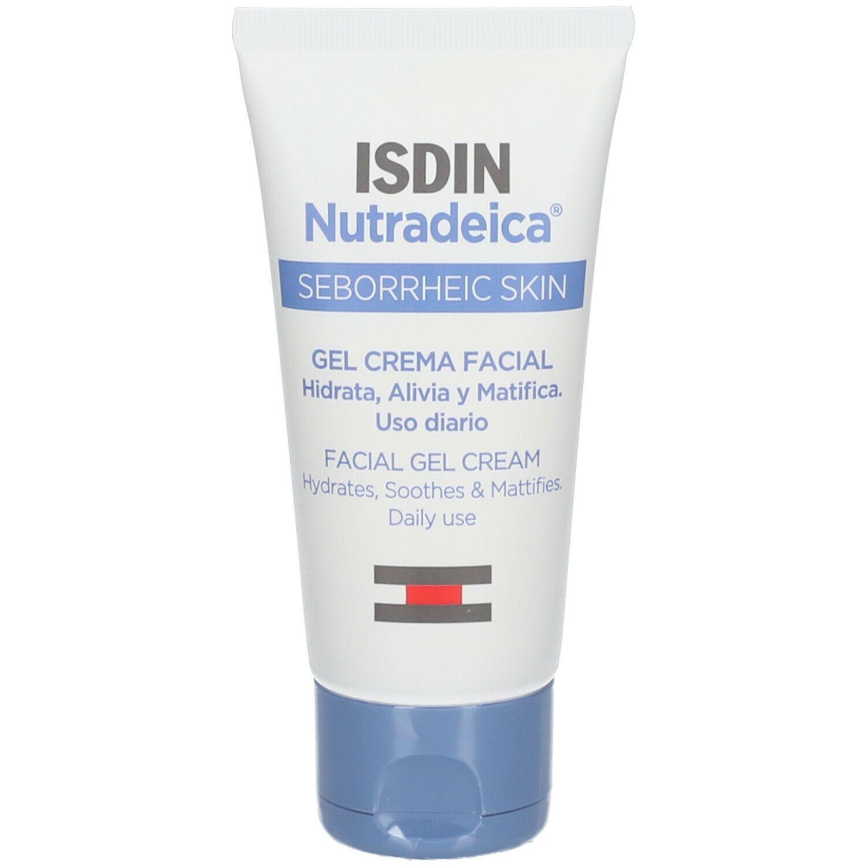ISDIN Nutradeica Gel-Crème Hydratant Visage Peau Séborrhéique