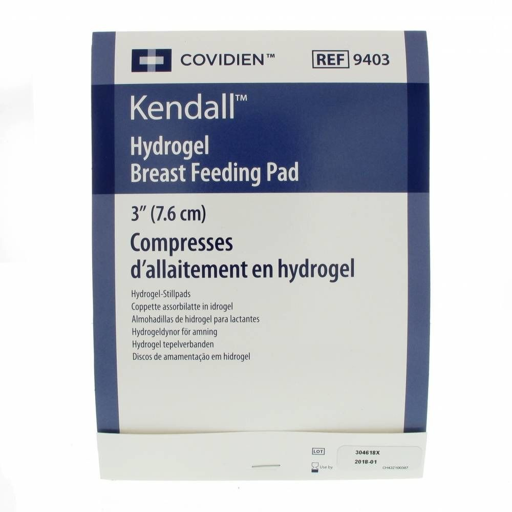 Kendall Hydrogel Pads Allaitement