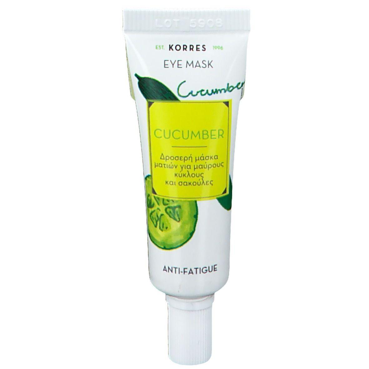 KORRES® Concombre Anti-Fatigue Masque Pour Les Yeux