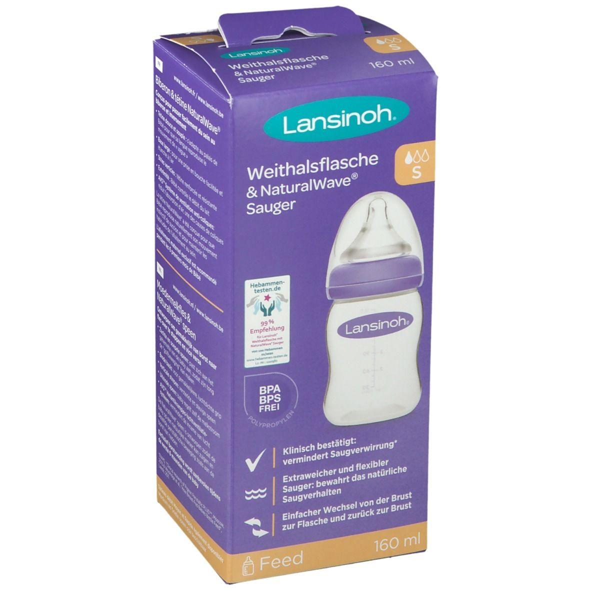 Lansinoh NaturalWave® Biberon avec tétine